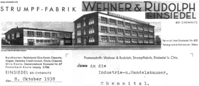 WeRu Briefkopf 1938