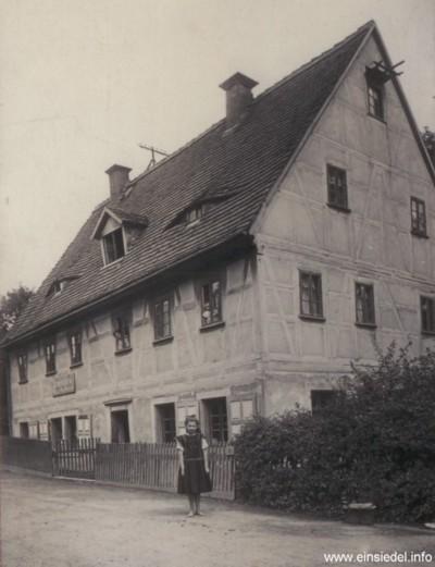Berbisdorfer Straße 18 in den 1920er Jahren