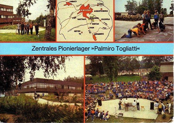 Ansichtskarte postalisch gelaufen 1985