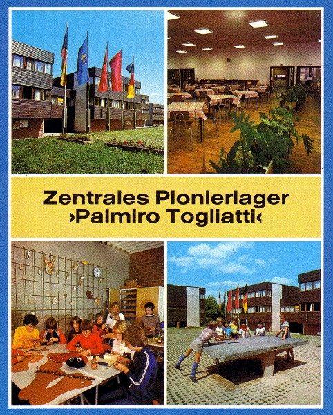 Ansichtskarte Zentrales Pionierlager Einsiedel