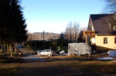 Dittersdorfer Weg in Einsiedel am 16.01.2011