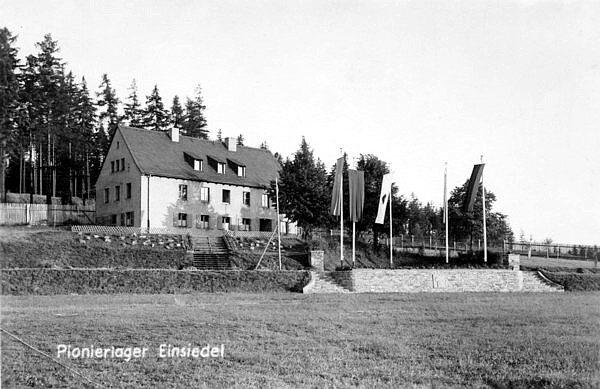 Krankenstation im Einsiedler Pionierlager