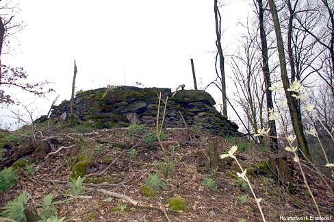 Ehemaliger Aussichtspunkt Körnerhöhe Einsiedel 2008