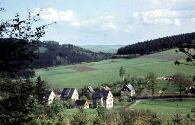 Historisches von der Eibenberger Straße