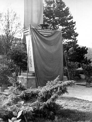 Enthüllung Ewige Mahner 1954
