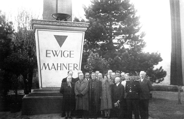 Gedenkstein Ewige Mahner Einsiedel 1954