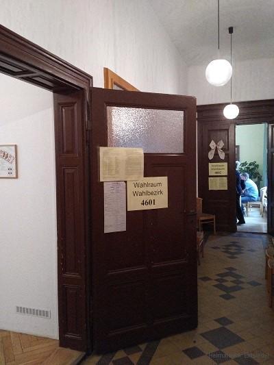 Wahllokale 4601 und 4602 im Einsiedler Rathaus