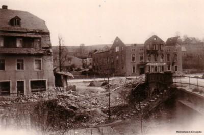 Bombenschäden 1945