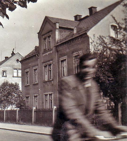 Einsiedel, Hauptstr. 21 in den 1930er Jahren.