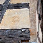 Hausnummer und Ortslistennummer