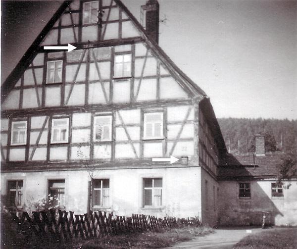 Fachwerkhaus Baujahr 1792 in Einsiedel