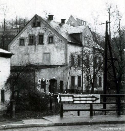 Einsiedler Hauptstraße 63 Anfang der 1960er Jahre