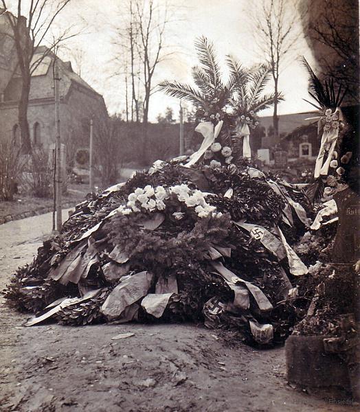 Grab von Kurt Günther, Einsiedler SA-Mann