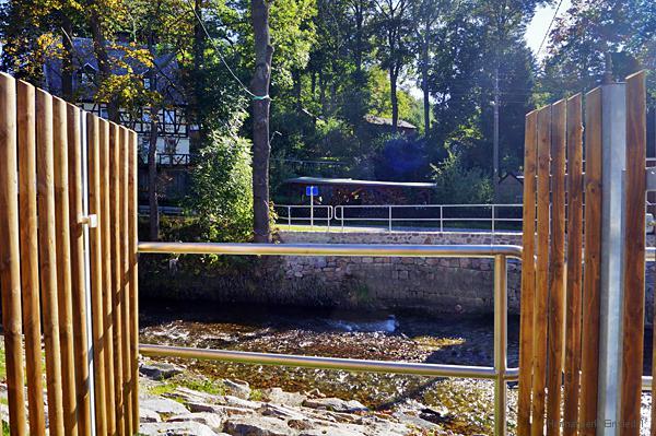 Hahnbrücke Einsiedel abgerissen