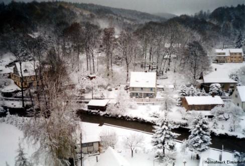 Talsperrengrund Einsiedel Januar 2005.