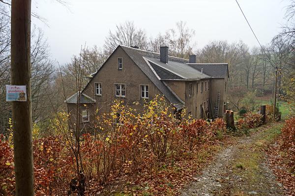 Ehemalige Villa Bößneck im November 2013