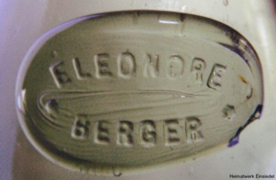 Eleonore Berger, Essighandel