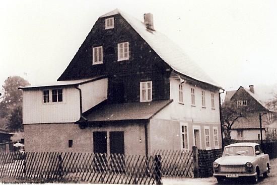 Lidenstraße 1 in Einsiedel um 1975
