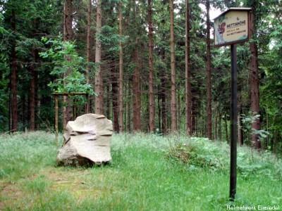 Gedenkstein Wettinhöhe Einsiedel 2008