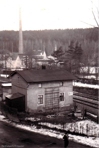 Schrankenwärterposten Nr. 9 in Einsiedel 1938