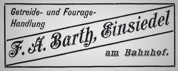 August Barth Fouragehandel