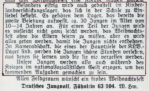 """""""Die Brücke"""" Dezember 1941"""