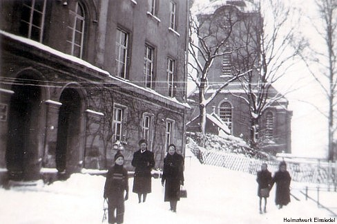 In der Kinderlandverschickung in Einsiedel 1944