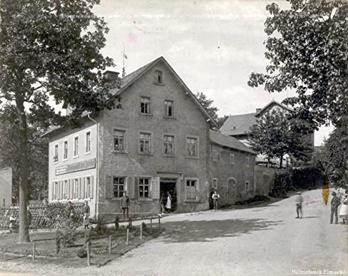 Kirchgasse 1 in Einsiedel um 1890