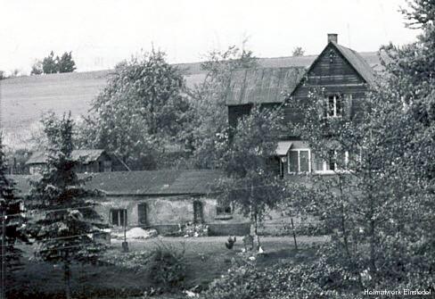 Wohnhaus auf den Grundmauern des Schweizerhäusels 1963