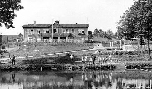 Einsiedler Naturbad um 1929