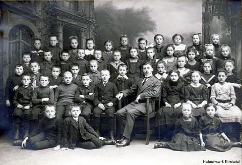 Schulklasse in Einsiedel