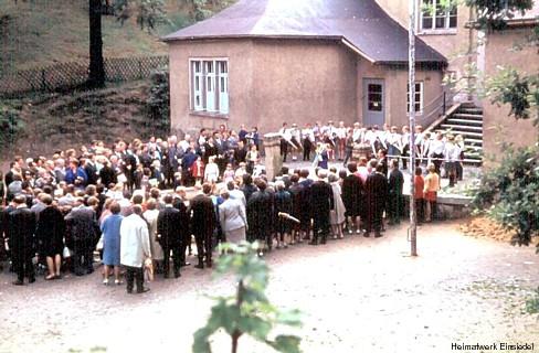 Einschulung in Einsiedel um 1970