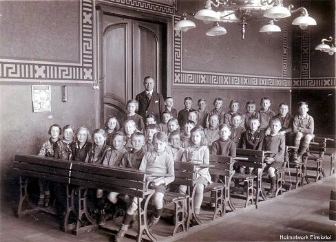 Schule Einsiedel: Klasse 5b 1934