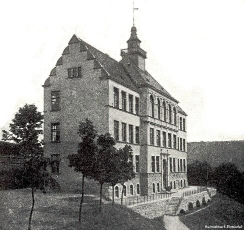 Neue Schule Einsiedel 1905