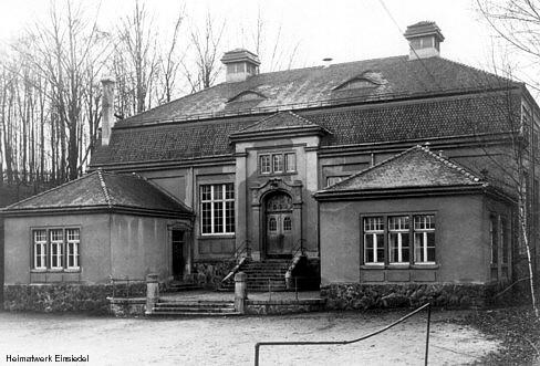Schulturnhalle Einsiedel ursprüngliche Bauausführung von 1912