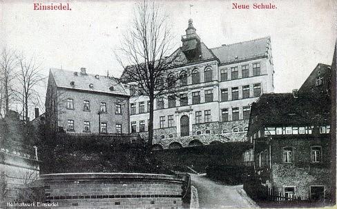 Neue Schule Einsiedelin den 1920er Jahren