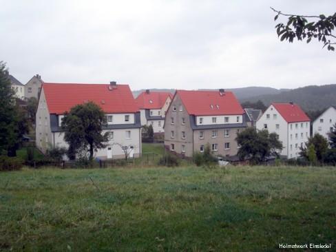 Harthauer Weg, obere Häuser 2004