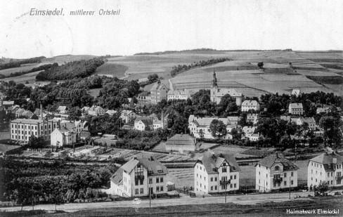 Einsiedel, Mittelort zw. 1910 und 1920