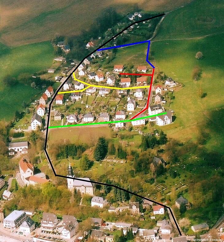 Pfarrhübel-Siedlung Einsiedel 2005