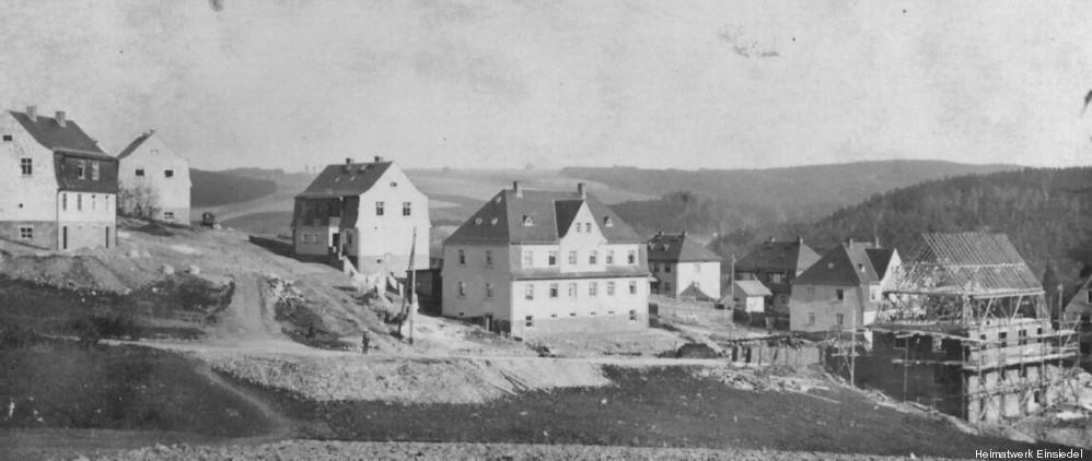 Pfarrhübelsiedlung Einsiedel zw. 1920 und 1930