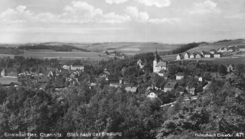 Siedlungsblick 1928