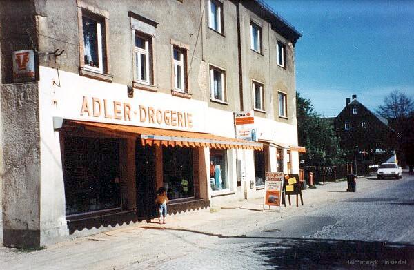 Drogerie Lindner in Einsiedel 1991