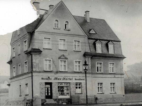 Bäckerei Hertel um 1940