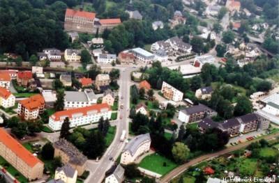 Einsiedler Neue Straße und August-Bebel-Platz 2005