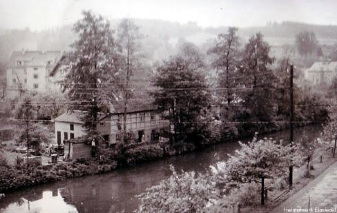 Totengräberhäusel Einsiedel in den 1950er Jahren