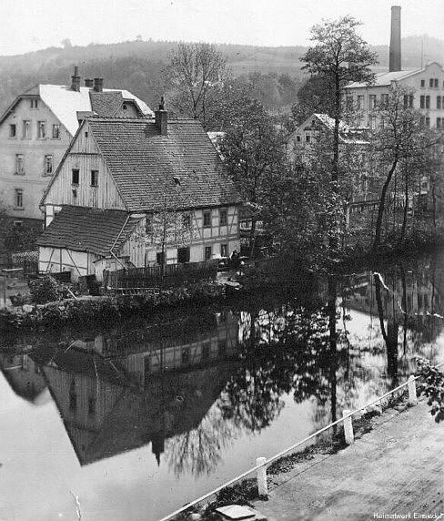 Totengräberhäusel Einsiedel vor 1945