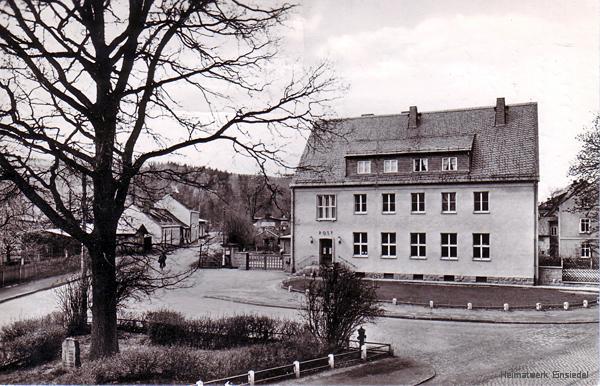 Einsiedel: Post und Luthereiche 1957