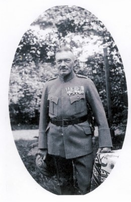 Adolf Braune in Uniform