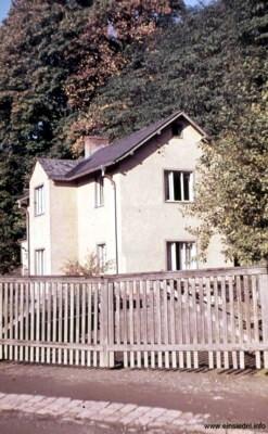 Ehemalige Hintergebäude, jetzt Wohnhaus, in den 1960er Jahren