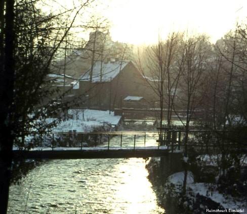 Hahnbrücke Einsiedel in den 1950er Jahren